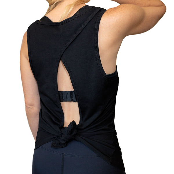 Flowy Open Back Tank