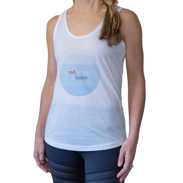 Red White And Barre Tank
