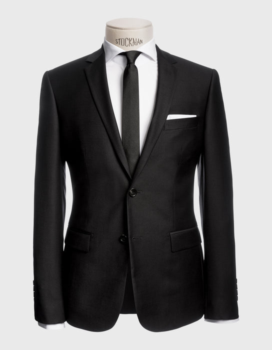 ANZUG EXTRA SLIM FIT. SCHWARZ| COLLECTION 19-10