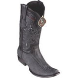 Men's King Exotic Teju Lizard Boots Dubai Toe