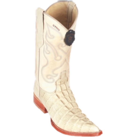Men's Los Altos Caiman Belly Print Boots 3x Toe