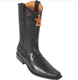 Men's Los Altos Caiman Belly With Deer Boots Versace Square Toe