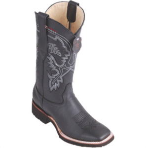 Men's Los Altos Grisly Boots Wide Square Toe (Rubber Sole)