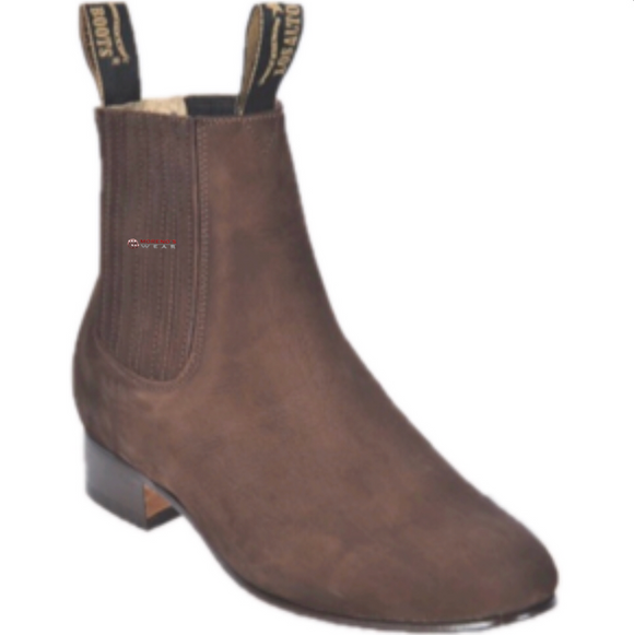 Men's Los Altos Nobuck Suede Finish Charro Boots