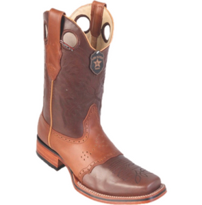 Men's Los Altos PullUp Boots With Saddle Square Toe