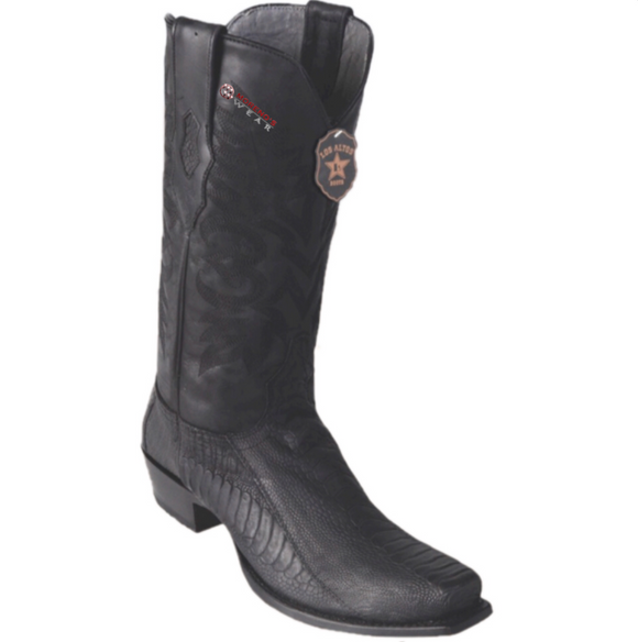 Men's Los Altos Ostrich Leg Boots 7 Toe