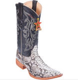 Men's Los Altos Python Boots 3x Toe