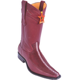 Men's Los Altos Stingray (RowStone) With Deer Boots Versace Square Toe