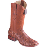 Men's Los Altos Pirarucu Fish Boots Wide Square Toe