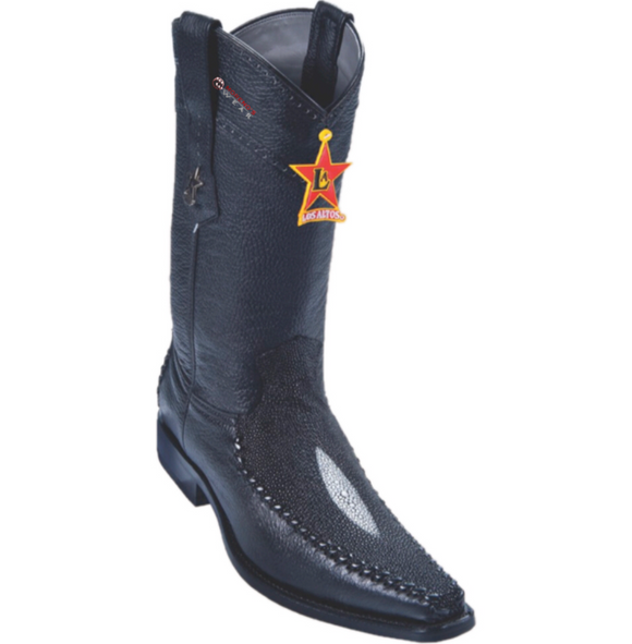 Men's Los Altos Stingray (SingleStone) With Deer Boots Versace Square Toe