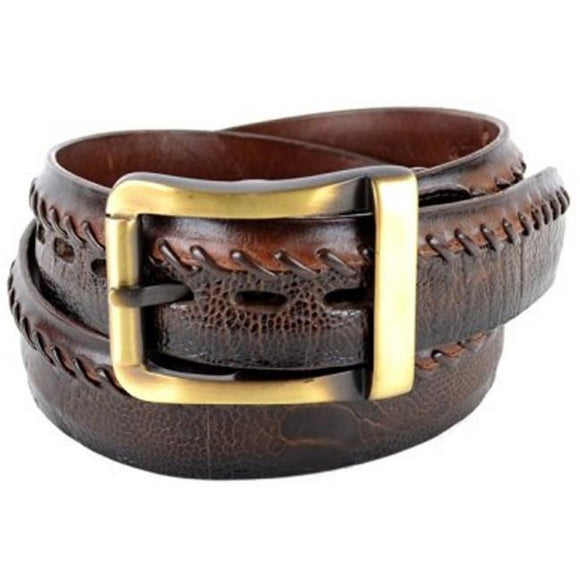 Men's Los Altos Ostrich Leg Casual Belt