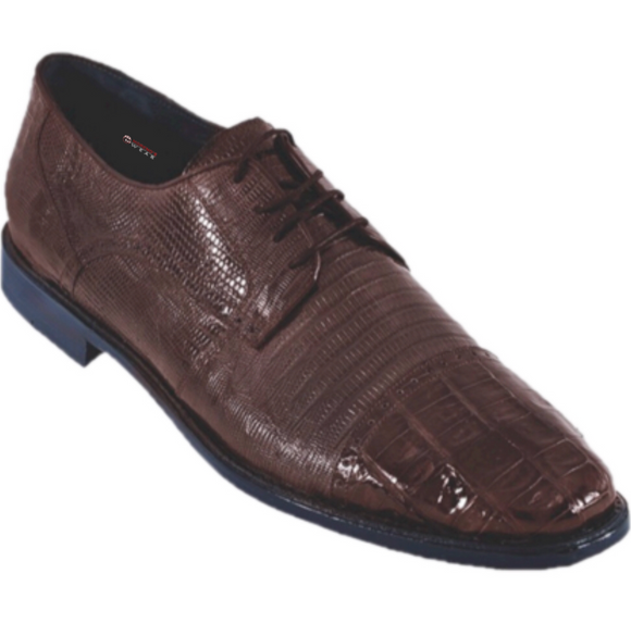 Men's Los Altos Caiman Belly With Teju Exotic Dress Shoes