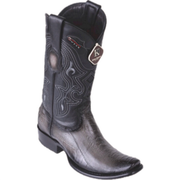 Men's Los Altos Ostrich Leg Boots Dubai Toe