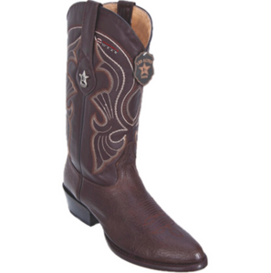 Men's Los Altos Bull Shoulder Boots Round Toe
