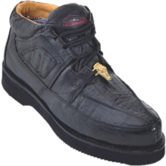Men's Los Altos Caiman Bellt With Smooth Ostrich Casual Shoes