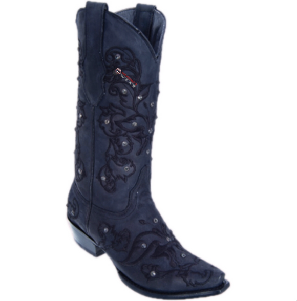 Women's Los Altos Desert With Embroidery/Stones Boots Snip Toe
