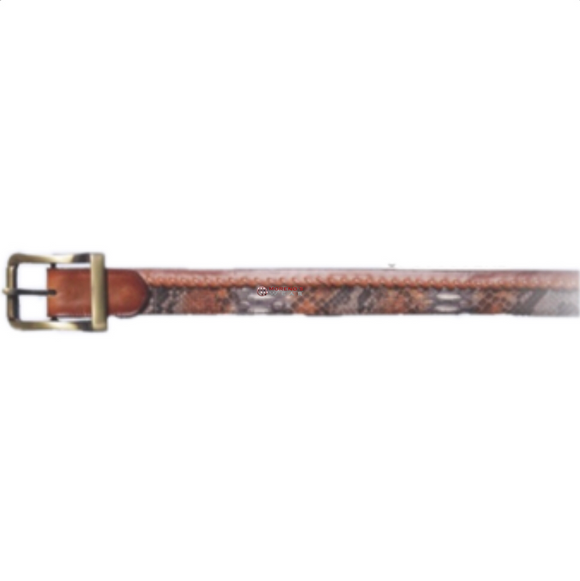 Men's Los Altos Python Casual Belt