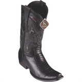 Men's King Exotic Python Boots Dubai Toe