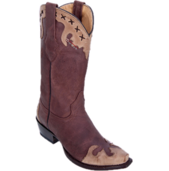 Women's Los Altos Desert With Design Boots Snip Toe