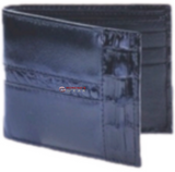 Los Altos Caiman Belly With Leather Exotic Wallet