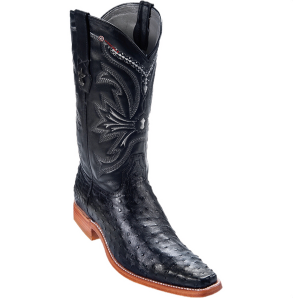 Men's Los Altos Ostrich Boots Versace Toe