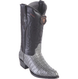 Men's Los Altos Caiman Tail Boots J Toe