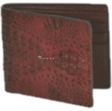 Los Altos Caiman Hornback Exotic Wallet