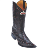Men's Los Altos Ostrich Boots 3x Toe