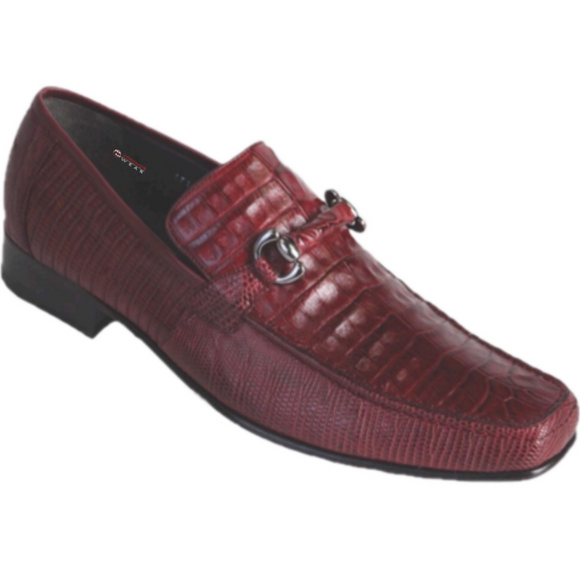 Men's Los Altos Caiman Belly With Teju Loafers