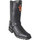 Men's Los Altos Smooth Caiman Biker Boots