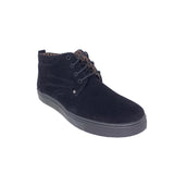 Brandon Black Suede Ankle Sneakers