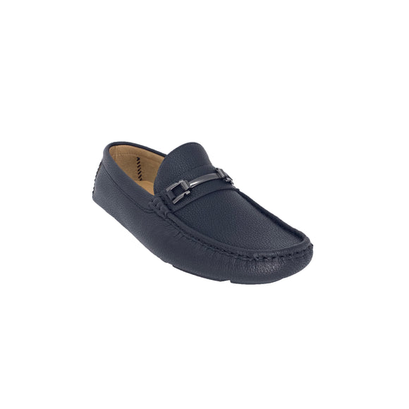 Alfredo Black Loafers Bonafini Collection (Last Pair)