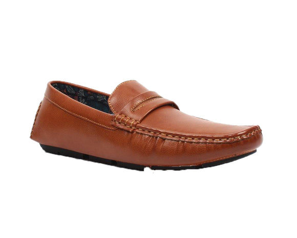 James Cognac Loafers Bonafini Collection