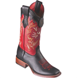 Women's Los Altos Grisly Boots Wide Square Toe