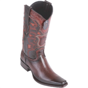 Men's Los Altos Ring Lizard Boots European Square Toe