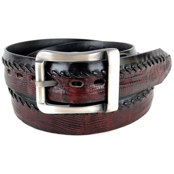 Men's Los Altos Teju Lizard Casual Belt