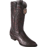 Men's Los Altos Ostrich Leg Boots Round Toe