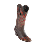 Women's Wild West Caiman Belly Boots Square Toe