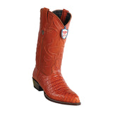 Men's Wild West Caiman Belly Print Boots J Toe