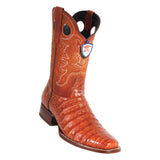 Men's Wild West Caiman Belly Boots Square Toe