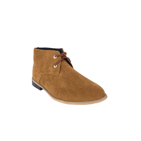 Mark Camel Faux Suede Ankle Shoes