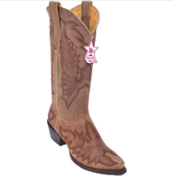 Women's Los Altos Desert With Embroidery Boots Snip Toe