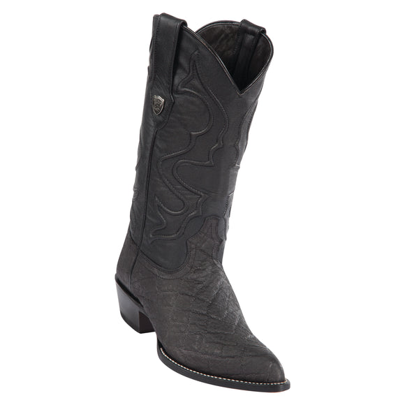 Men's Wild West Elephant Print Boots J Toe
