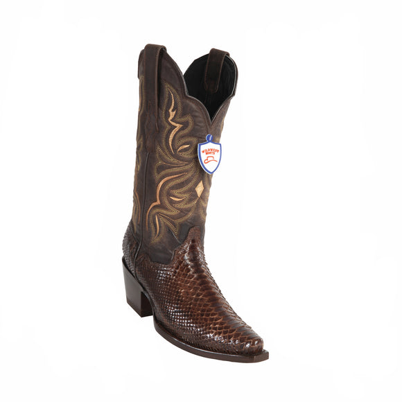 Women's Wild West Python Boots Snip Toe