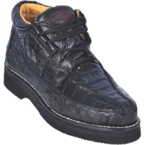 Men's Los Altos Caiman With Ostrich Casual Shoes