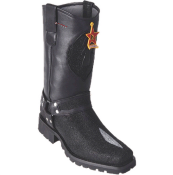 Men's Los Altos Stingray (Single Stone) Biker Boots