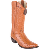Men's Los Altos Ostrich Boots Snip Toe