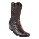 Men's Wild West Caiman Belly With Deer Ankle Boots Dubai Toe