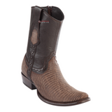 Men's Wild West Teju Lizard Ankle Boots Dubai Toe