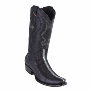 Men's Wild West Stingray Rowstone With Deer Boots Dubai Toe